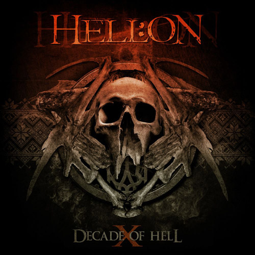 "HELL:ON ""Decade of Hell"" 2015 front cover"